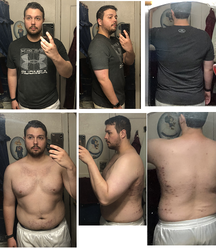Weight loss Day 1